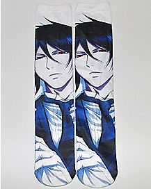 Sublimated Black Butler Knee High Socks
