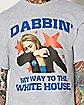 Hillary Clinton Dabbin' My Way T shirt