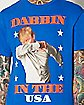Dabbin in the USA Donald Trump T shirt