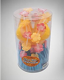 Hula Girl Bottle Holder