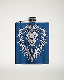 Lion World Of Warcraft Flask