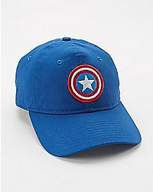 New Era Captain America Dad Hat