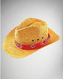 Bandana Band Cowboy Hat