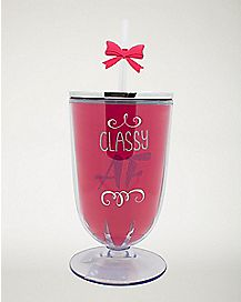 Classy AF Cup With Straw - 16 oz.