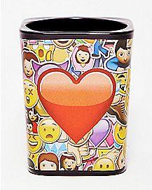 Heart & Emotion Face Shot Glass - 1.5 oz.