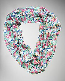 Character Alice In Wonderland Infinity Scarf