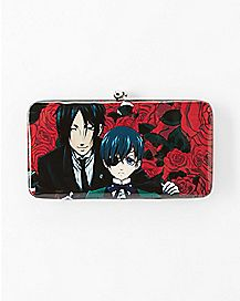 Black Butler Hinge Wallet