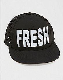 Black Fresh Trucker Hat