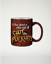 STFU Molded Finger Mug - 20 oz.