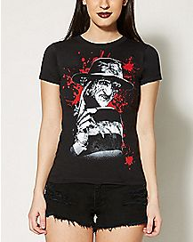 Counting Freddy Nightmare On Elm Street T shirt