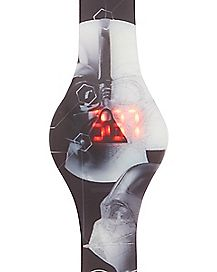 Vader Star Wars Death Star LED Watch