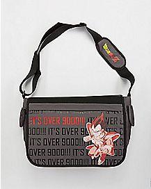 It's Over 9000 Dragon Ball Z Messenger Bag