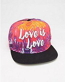 Love Is Love Snapback Hat