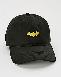 Curved Brim Batman Dad Hat