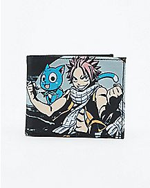Happy and Natsu Fairy Tail Bifold Wallet