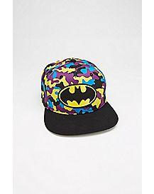 Camo Batman DC Comics Snapback Hat