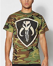 Star Wars Mandalore Camo T shirt