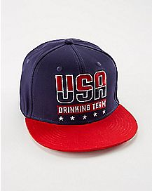 USA 76 Drinking Team Snapback Hat