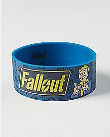 Vault Boy Fallout Rubber Bracelet