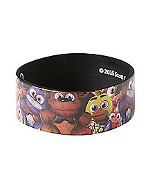 Group Rubber Bracelet - Five Nights At Freddy's