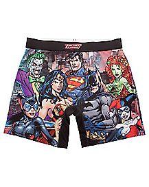 Justice League DC Comics Boxer Briefs