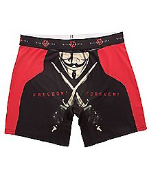 Freedom Forever Swords V For Vendetta Boxer Briefs