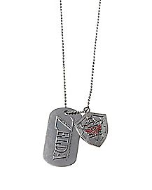 Shadow Link The Legend of Zelda Dog Tag Necklace