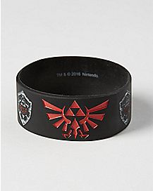 Shadow Link Rubber Bracelet - The Legend Of Zelda