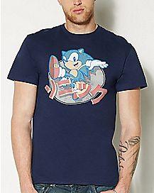 Classic Kanji T Shirt - Sonic the Hedgehog