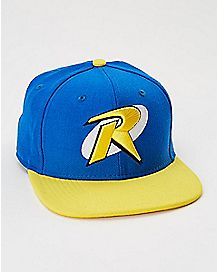Logo New Era Robin Snapback Hat- DC Comics