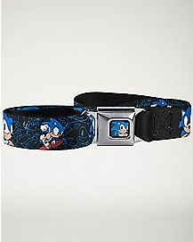 Sketch Sonic The Hedgehog Seatbelt Belt