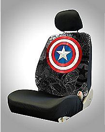 Captain America Car Seat Cover