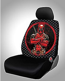 Deadpool Car Seat Cover - Marvel Comics
