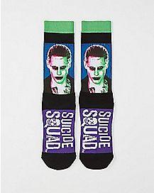 Joker Suicide Squad Crew Socks - DC Comics