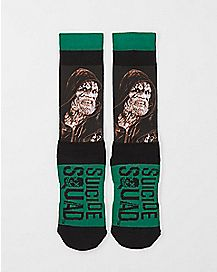 Sublimated Killer Croc Suicide Squad Crew Socks