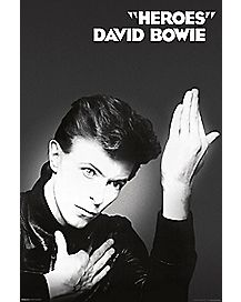 Heroes David Bowie Poster