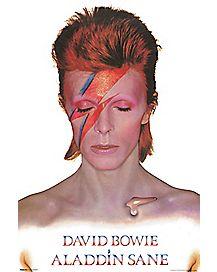 Aladdin Sane David Bowie Poster