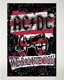 We Salute ACDC Your Poster