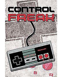 Control Freak Nintendo Poster