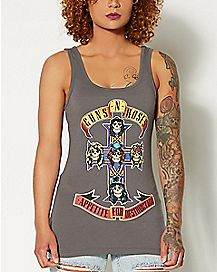 Cross Appetite for Destruction Guns N Roses Tank