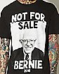 Not For Sale Bernie Sanders Tee