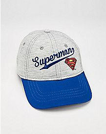 Superman Baby Baseball Hat