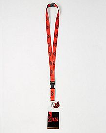 Shadow Link Lanyard - The Legend Of Zelda