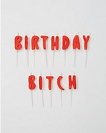 Birthday Bitch Birthday Candles