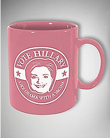 Hilary Like Obama Mug 30 oz