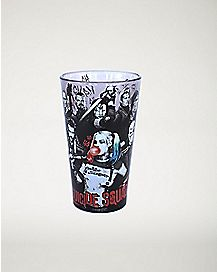Character Group Shot Suicide Squad Pint Glass - 16 oz