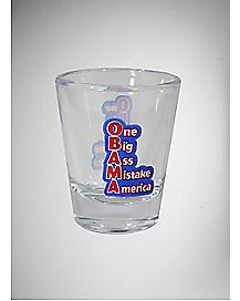 One Big Ass Mistake Shot Glass