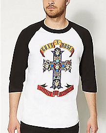 Destruction Raglan Guns N Roses T shirt