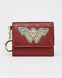 Logo Wonder Woman DC Comics Trifold Wallet