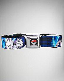 150 Mewtwo Pokemon Seatbelt Belt